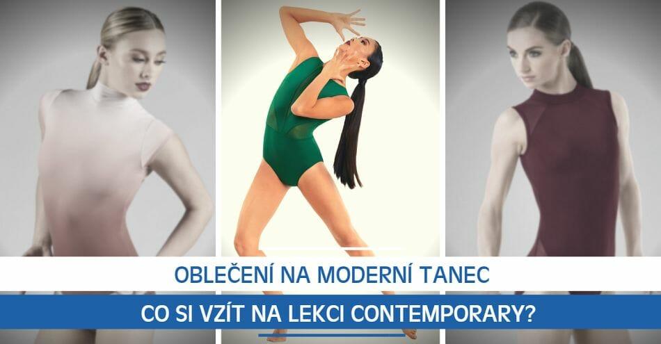 Oblečení na moderní tanec: Co si vzít na lekci contemporary?