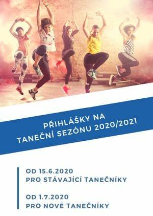 Přihlášky na taneční sezónu 2020/2021 | 331 Dance Studio Olomouc